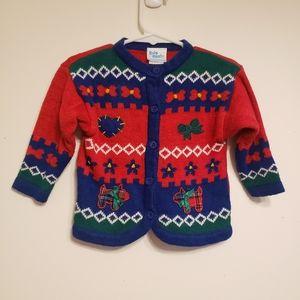 Vintage baby B'Gosh sweater size 12m